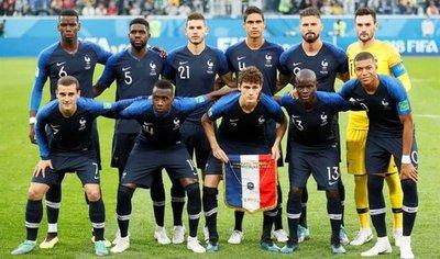 Francia es amplia favorita a ganar el Mundial de Rusia