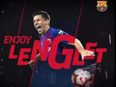 Lenglet es nuevo jugador del Barcelona