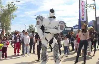 Conocé al robot del Grupo Lince