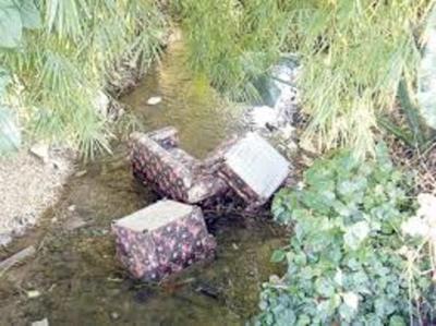 ¿Por qué los capiateños usan de vertedero a los arroyos?