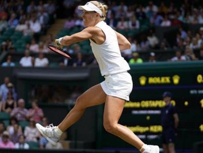 Angelique Kerber superó a Ostapenko y está en la final de Wimbledon