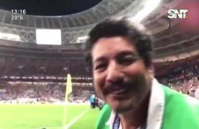 Conocé más sobre el fotógrafo aplastado en plena semifinal Rusia 2018