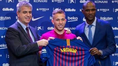 Arthur y Clément Lenglet presentados cono nuevos refuerzos del Barcelona