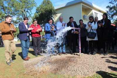 Essap habilita aductora para solución definitiva a falta de agua potable en Guairá