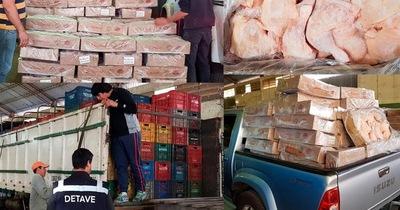 Frontera permeable: DETAVE requisa toneladas de productos contrabandeados