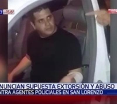 Detienen a policía tras denuncia de extorsión y abuso sexual