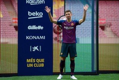 Lenglet llega al Barça con hambre de títulos