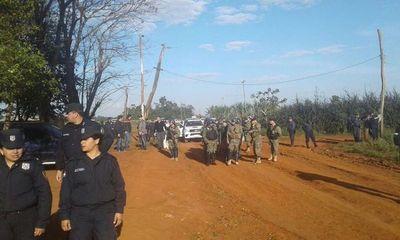 Campesinos denuncian nuevo intento de desalojo en Guahory