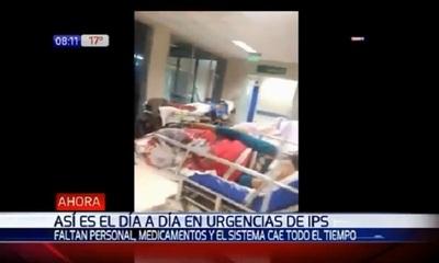 Enfermero de IPS brinda testimonio de las deficiencias en la atención