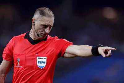 Néstor Pitana será el arbitro de la final del Mundial entre Francia y Croacia