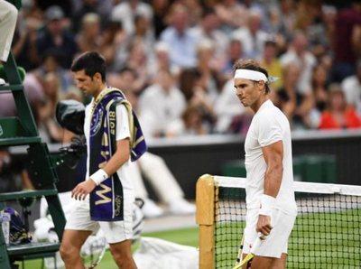 El juego entre Djokovic y Nadal continuará este sábado