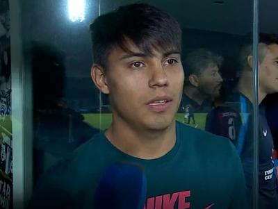 Arzamendia sufrió una lesión en el amistoso ante Talleres de Córdoba
