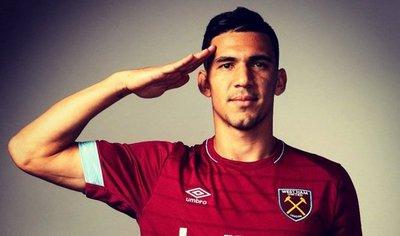 West Ham anuncia a Fabián Balbuena como nuevo refuerzo