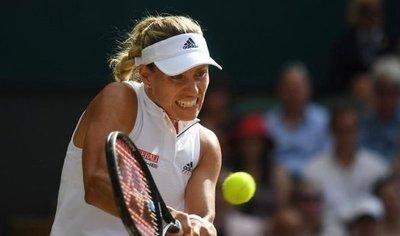 Kerber vence a Serena Williams y gana Wimbledon por primera vez