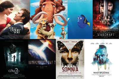 Cartelera Cine San Lorenzo fin de semana
