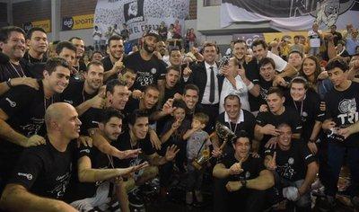 Olimpia, tetracampeón del básquetbol paraguayo