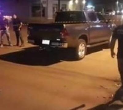 Balacera en Pedro Juan Caballero culmina en tres heridos