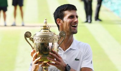Djokovic gana Wimbledon por cuarta vez