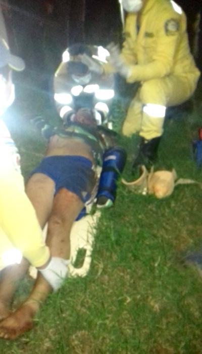 Motociclista muere tras ser atropellado por rodado sobre ruta en Minga Guazú