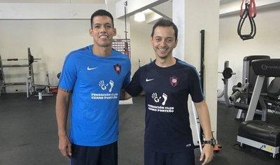 Dos Santos inicia la recuperación en Cerro Porteño