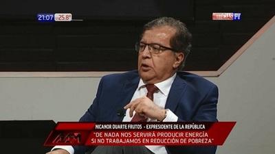 """Nicanor habla de la """"violación intrascendente"""" de la Constitución"""