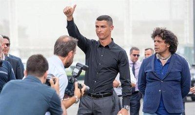 Cristiano Ronaldo, presentado como nueva estrella de la Juventus