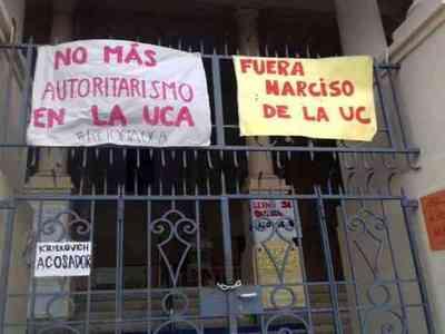 Suspensión condicional en caso #TomaUCA