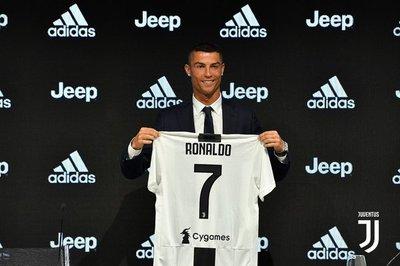 Cristiano fue presentado en Juventus