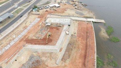 Obras del Muelle Deportivo presenta 66% de avance