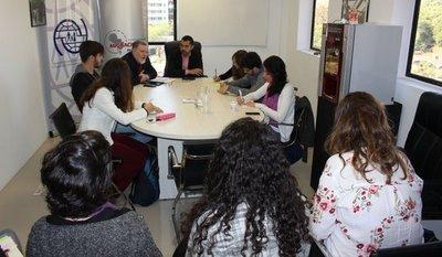 Estudiantes brasileños participaron de charla sobre migración