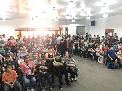 Colonia de vacaciones de Robótica cuenta con unos 150 participantes