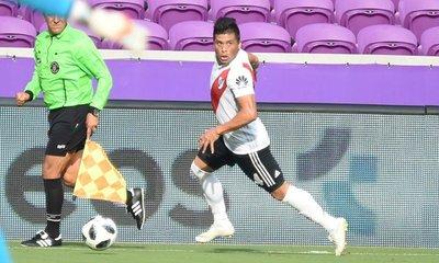 Moreira sumó minutos con River Plate