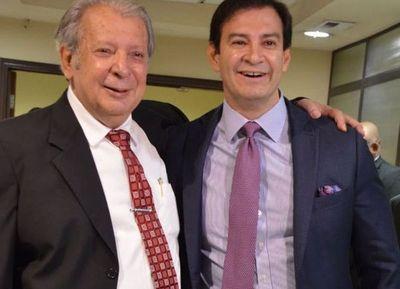"""Juraron Friedmann y Gusinsky y el colorado """"Beto"""" Ovelar fue elegido presidente del Congreso"""