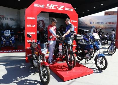 Chacomer presentó la moto Yamaha YC-Z