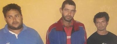 Tres detenidos por hurto de chapas zinc