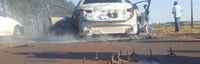 Revelan identidad de presuntos asaltantes de carro fuerte