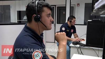 911 RECIBE MÁS 5.000 LLAMADAS SEMANALES EN ITAPÚA
