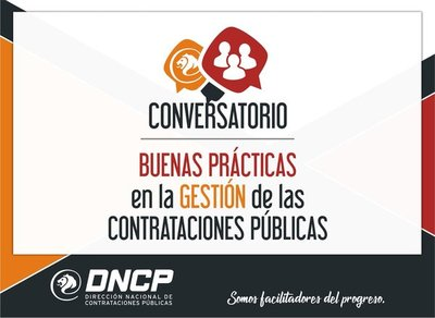 La DNCP organiza conversatorio sobre buenas prácticas en compras públicas