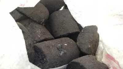 Colombianos convertían cocaína en carbón