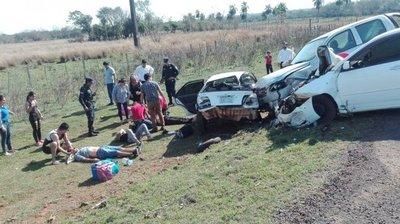 Segunda víctima fatal de triple choque en Ñumí