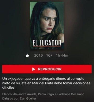 Lali González llega a Netflix con El jugador