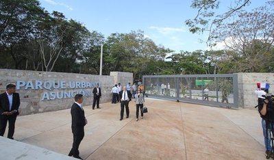 Asunción tiene parque pyahu y está re-purete
