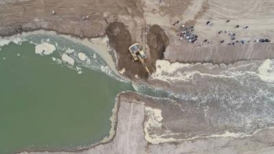 """HOY / """"Misión cumplida"""": Chaco tendrá agua los próximos meses"""