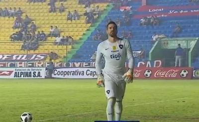 "Anthony Silva ""campeón"" con Cerro creó roncha"