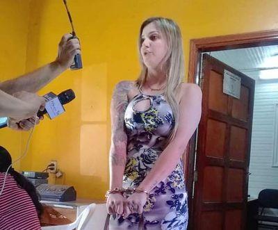 Brasileña aprehendida en Pedro Juan Caballero