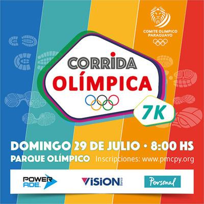 Comité Olímpico invita a su gran corrida