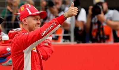 Sebastian Vettel saldrá desde la pole en el GP de Alemania