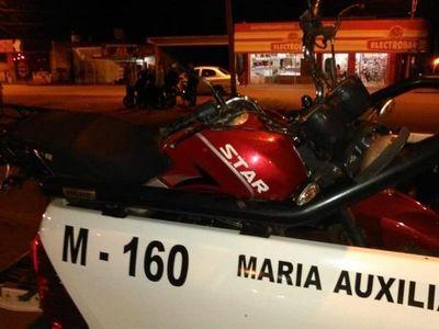 Tomas Romero Pereira: Dos motocicletas chocan hay varios heridos