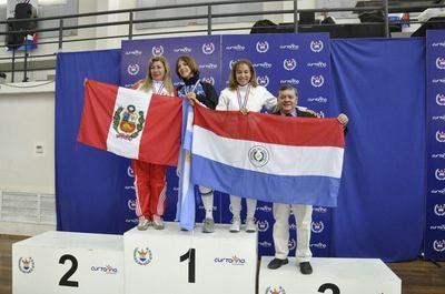 Paraguay terminó con 9 medallas en sudamericano de esgrima