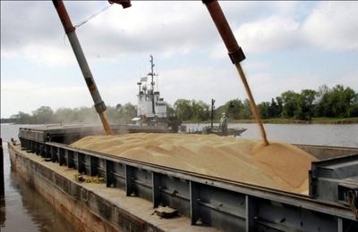 En el primer semestre del año bajaron las exportaciones de soja y trigo